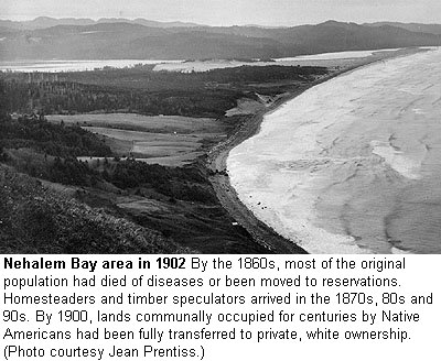 History of the Nehalem Bay Area