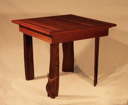 Cedar Table - cedar, oil finish