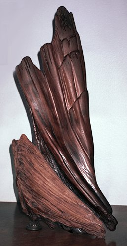 Anima Emerging - cedar & bronze
